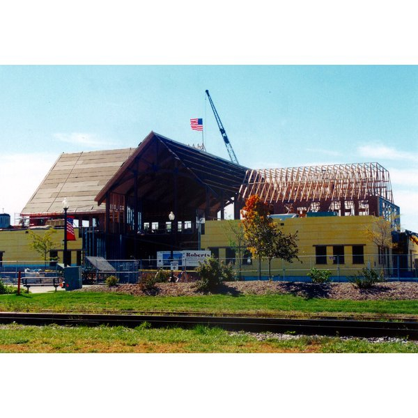 Construction of Our Library - 2001