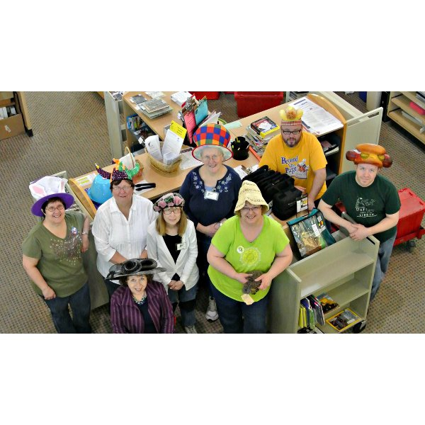 2014 - National Library Week - Crazy Hat Day